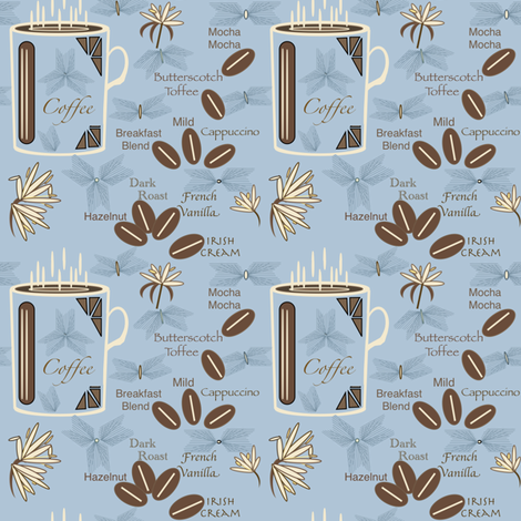 Coffee_152_185_206 fabric by petals_fair_(peggy_brown) on Spoonflower - custom fabric