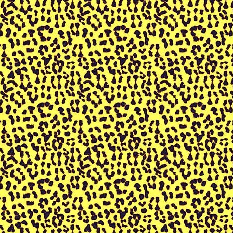©2011 Leopard - Spot o' Sunshine fabric by glimmericks on Spoonflower - custom fabric