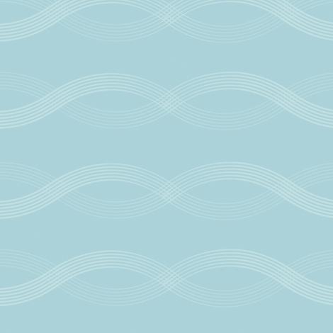Wavy Waves fabric by jenimp on Spoonflower - custom fabric
