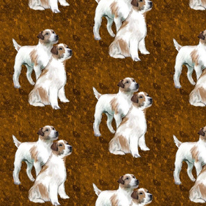 Jack Russell Terrier Fabric