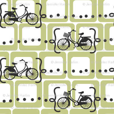 Ride a bike V2 in olive