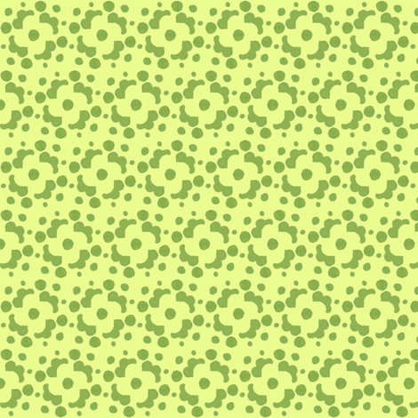 green and chartreuse tile fabric by katrinazerilli on Spoonflower - custom fabric