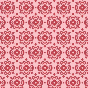 pink and rose tile
