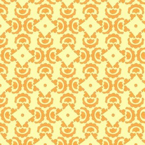 Orange and yellow tile