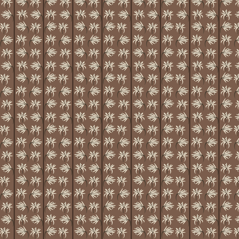 Coffee Blossoms fabric by petals_fair_(peggy_brown) on Spoonflower - custom fabric
