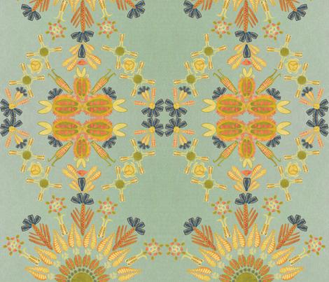 harvard botanical kaleidoscope 2 fabric - suzannechase ...