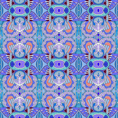Decos Over Egypt fabric by edsel2084 on Spoonflower - custom fabric