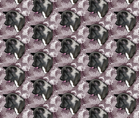 Akita Fabric fabric by dogdaze_ on Spoonflower - custom fabric