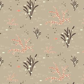 Coral & Kelp - dove