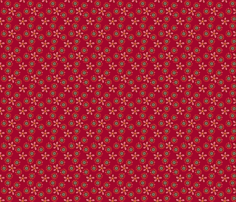 ©2011 BG_GLIMMERICKS_RASPBERRY-ed fabric by glimmericks on Spoonflower - custom fabric