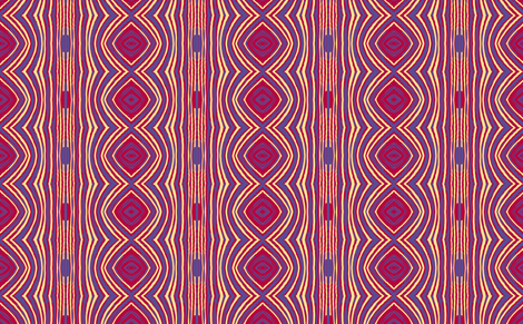 BIG BOLD tiger moth stripe variation A by Su_G fabric by su_g on Spoonflower - custom fabric