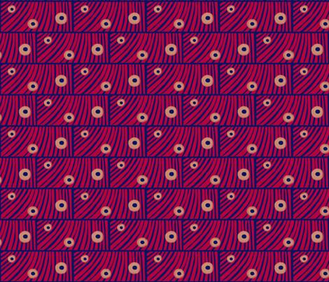 Tiger moth eyes A by Su_G fabric by su_g on Spoonflower - custom fabric