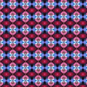 Kaleidoscope clown pants - layout mirror