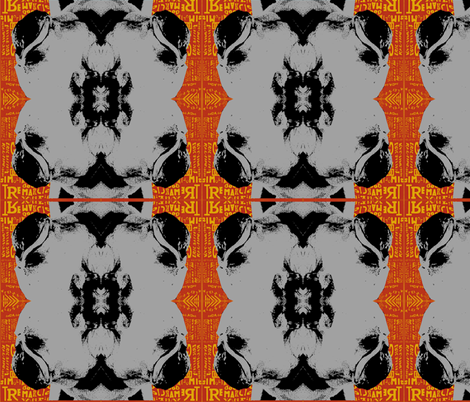 French Bulldog  fabric by abradleyart on Spoonflower - custom fabric
