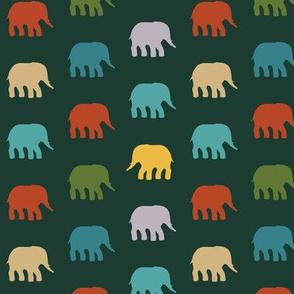 mini circus elephants