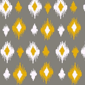 ikat- yellow