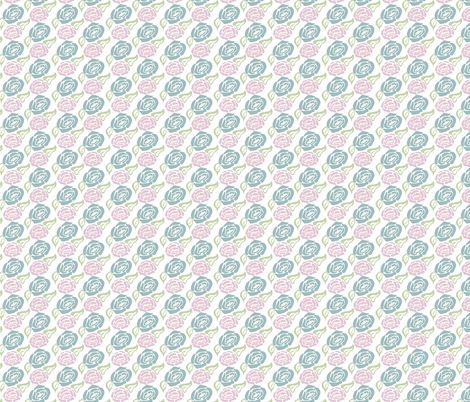 Roses fabric by jara_by_jacki on Spoonflower - custom fabric