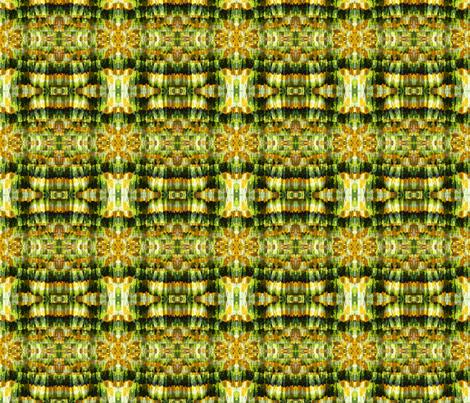 vintage_sixties_hawaiian_pineapple_print_dress_fabrik fabric by vinkeli on Spoonflower - custom fabric