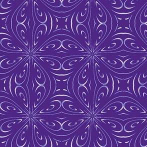 Star Window Purple