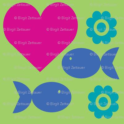 heartfishflower-green