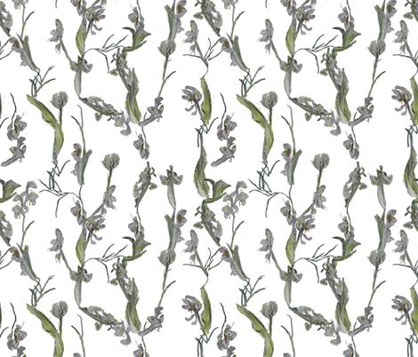 Flowerchain fabric by margarite on Spoonflower - custom fabric