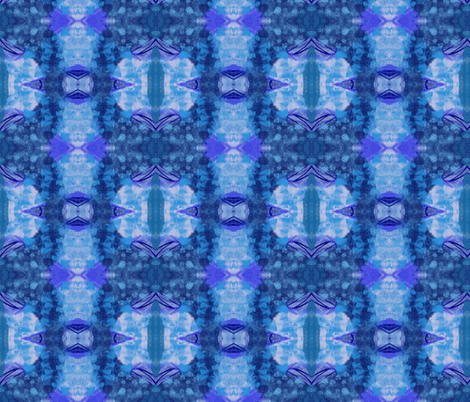 Blue 1 fabric by vaslittlecrow on Spoonflower - custom fabric