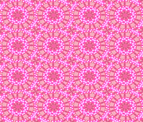 Intricately_Pink fabric by charldia on Spoonflower - custom fabric