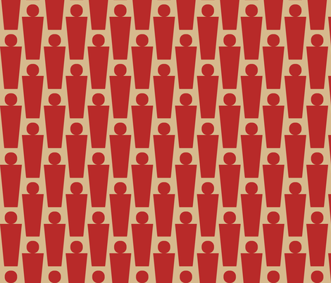 Exclamation (Red) fabric by david_kent_collections on Spoonflower - custom fabric