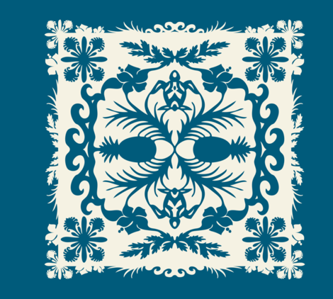 Aloha Quilt fabric by resdesigns on Spoonflower - custom fabric