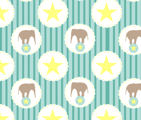 Let's go to the circus! fabric by eoskoch on Spoonflower - custom fabric