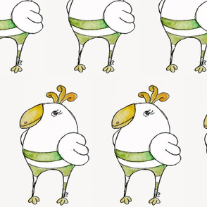 dodo bird green