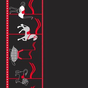 Safari-Go-Round border (please zoom)