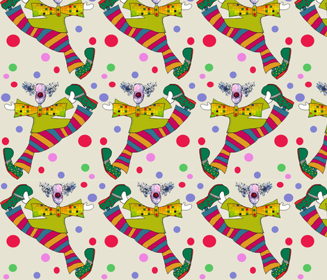 happy_clown fabric by marilucia on Spoonflower - custom fabric