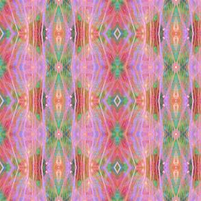 Geometric Pink & Green