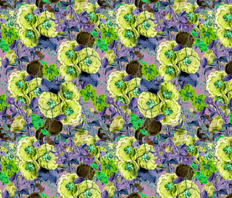 Florence in Tundra fabric by dolphinandcondor on Spoonflower - custom fabric