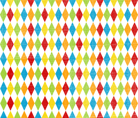 Circus Harlequin fabric by amywtsn on Spoonflower - custom fabric