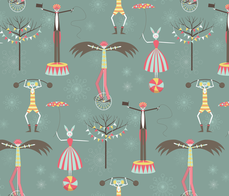 The Birdman Takes the Show fabric by kayajoy on Spoonflower - custom fabric