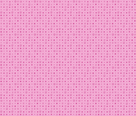 PINK DOTS fabric by gsonge on Spoonflower - custom fabric