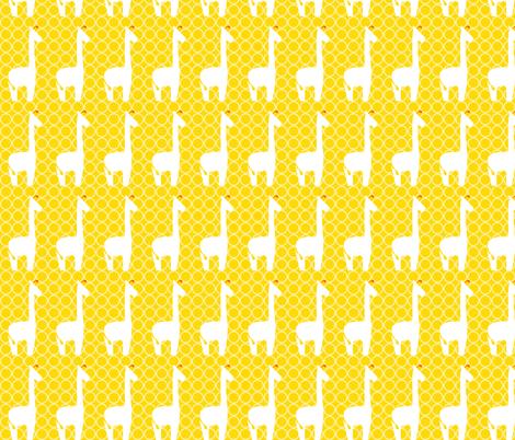 Circus Tower - Giraffe Dot, Large Scale fabric by ttoz on Spoonflower - custom fabric