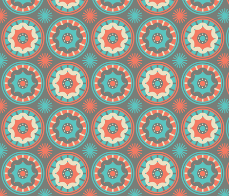 CircusWheels4_Contest fabric by kimnb on Spoonflower - custom fabric