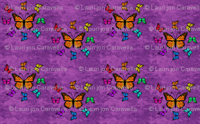 Butterfly Color Palette - Purple, Butterfly Color Wheel