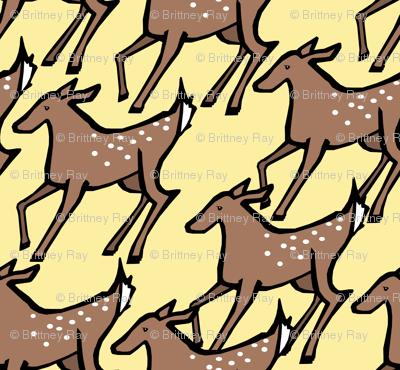 Sunny Deer Print