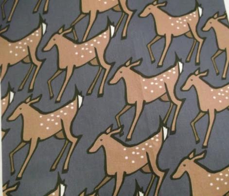 Shady Deer Print