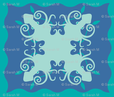 Hawaiian squids are the very best squids - Mint on deep blue