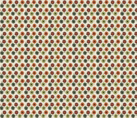 Autumn Floral fabric by abbyg on Spoonflower - custom fabric