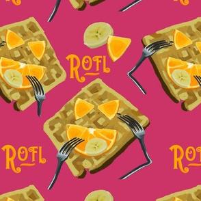 ROFL Waffle PINK