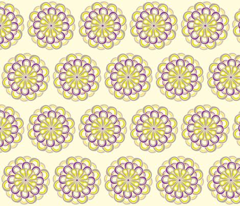 Dahlia fabric by mainsail_studio on Spoonflower - custom fabric