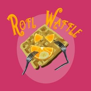 ROFL Waffle Panel - Pink