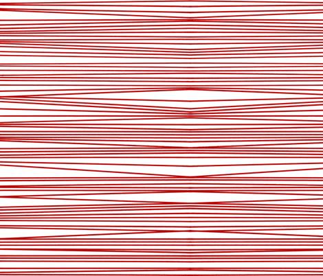 red optical illusion fabric by littlemissquarter on Spoonflower - custom fabric