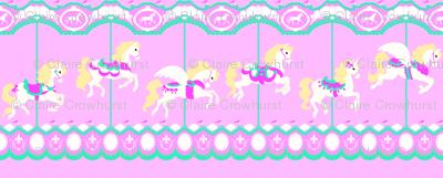 Carousel in Pink